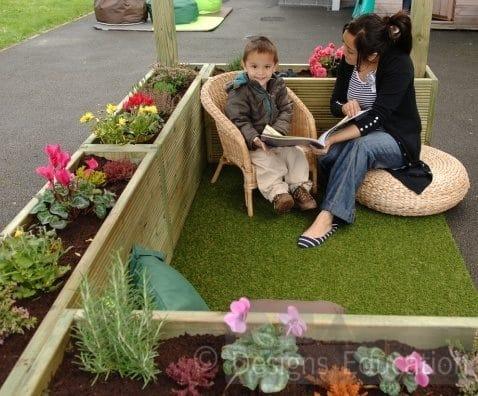 Sensory Cosy Garden Designs For Education