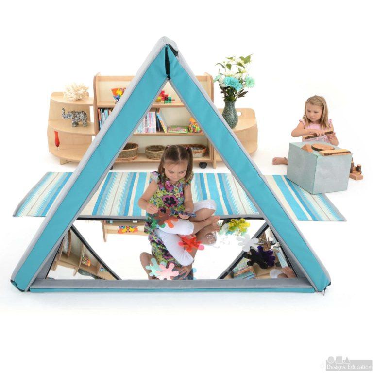 soft triangular mirror house new web