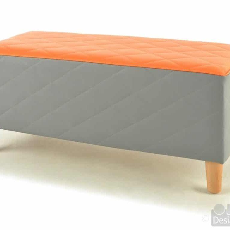 F1678N Cushioned Bench