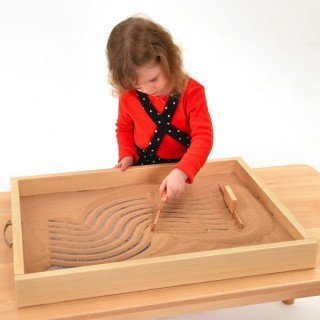 S0139W Sand Tray Child with Rake