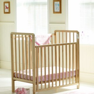 Space saver cot - side down web image