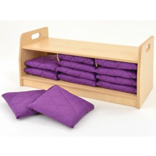 Pioneer Storage unit with cushions square