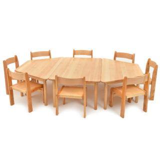 Trapezoidal & Rectangular Tables square