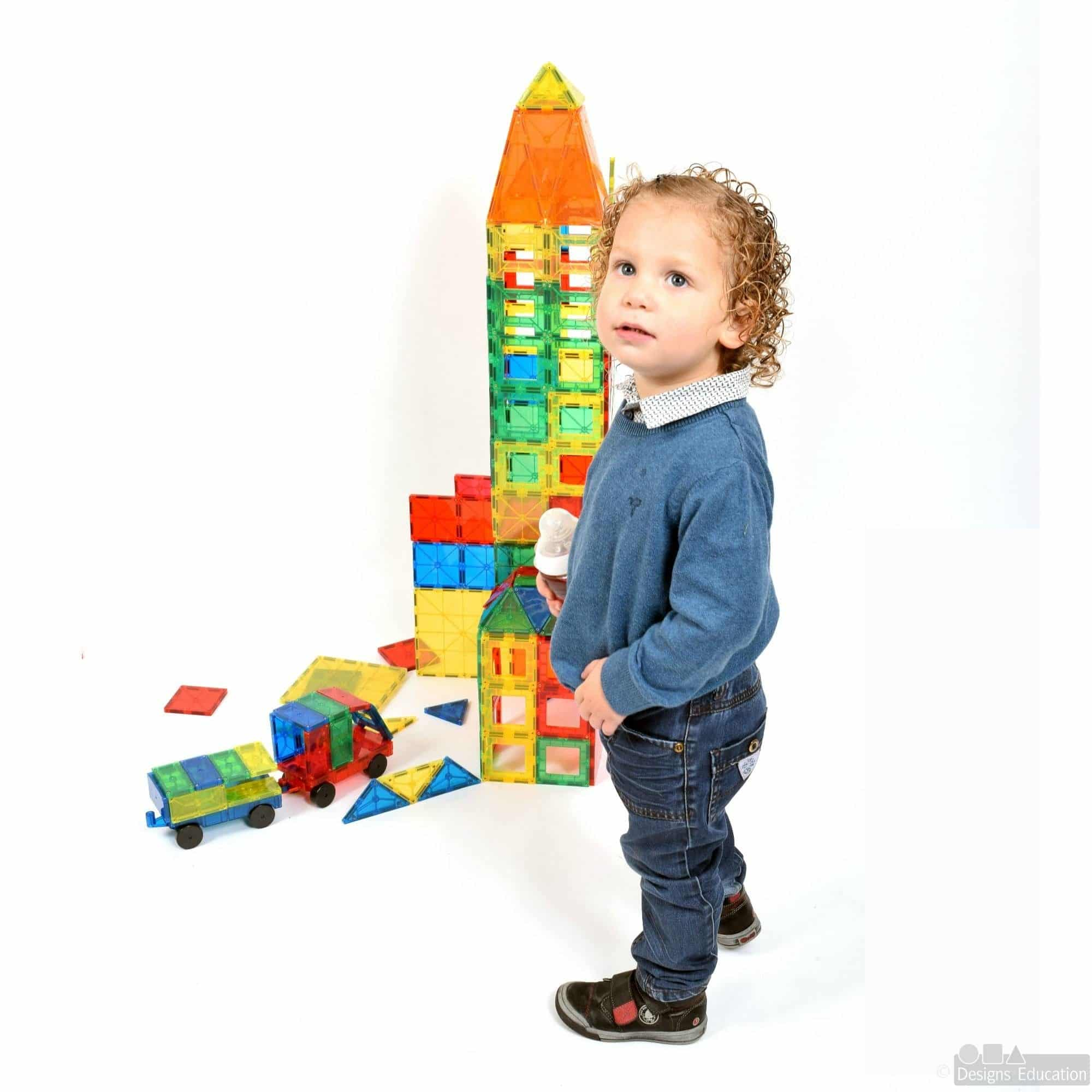 Imags 3D Magnetic Building Blocks Designs For Education