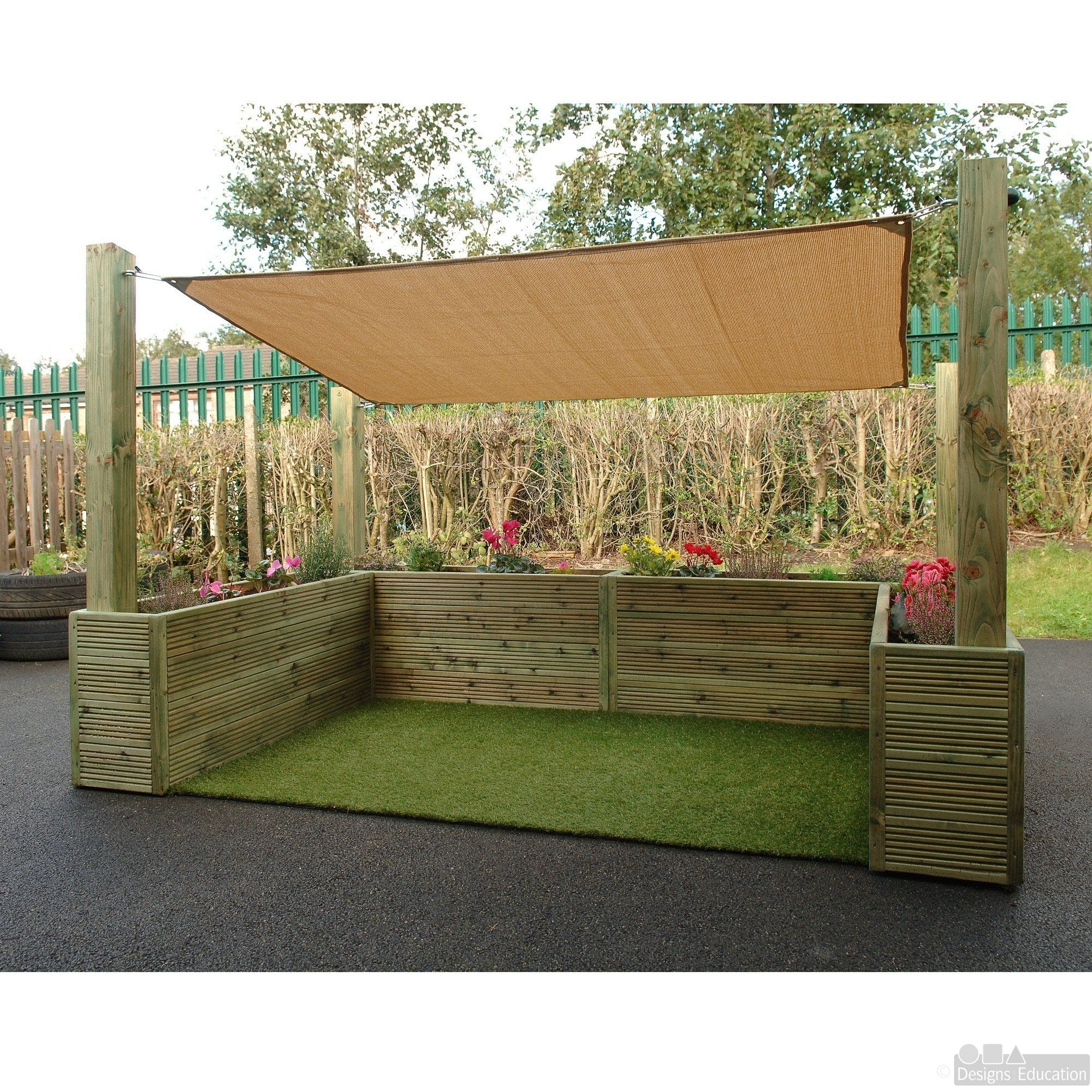 Sensory Cosy Garden - Designs For Education