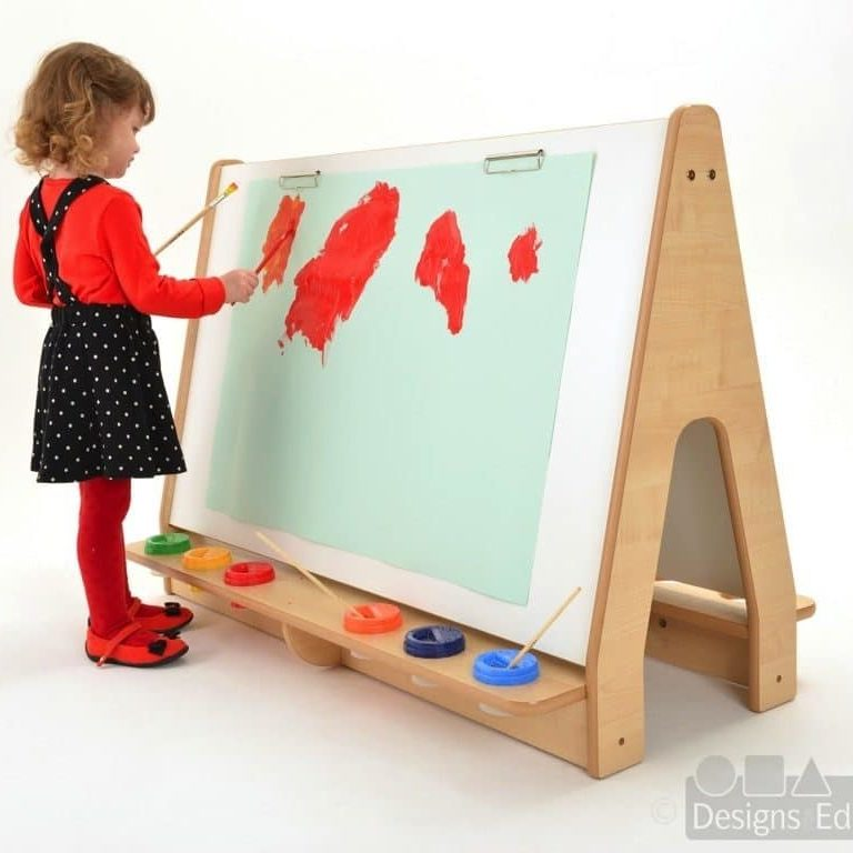 A0076C - Double Easel