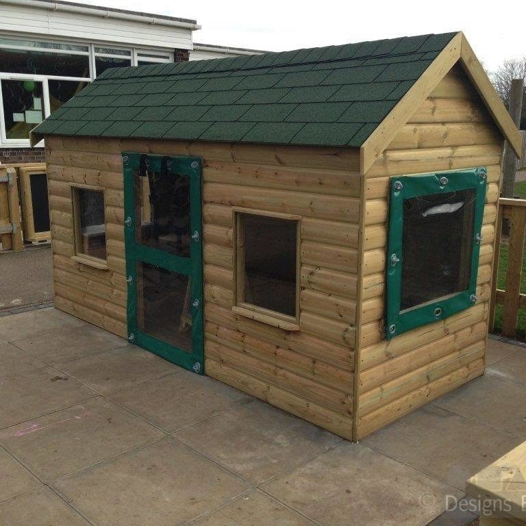 F1708N Playhouse with Covers