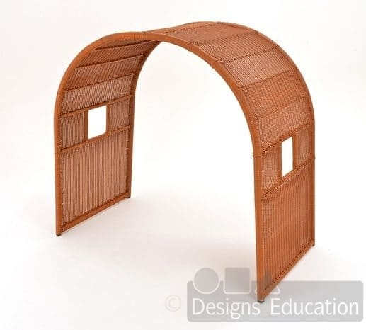 Plastic willow arch designs for education for Furniture zone thames