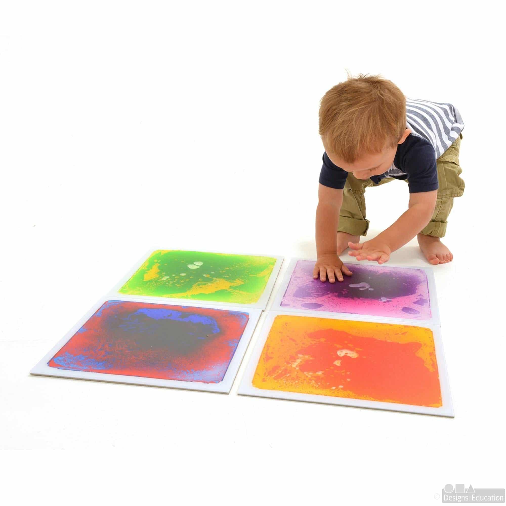 Sensory Floor Tiles Designs For Education