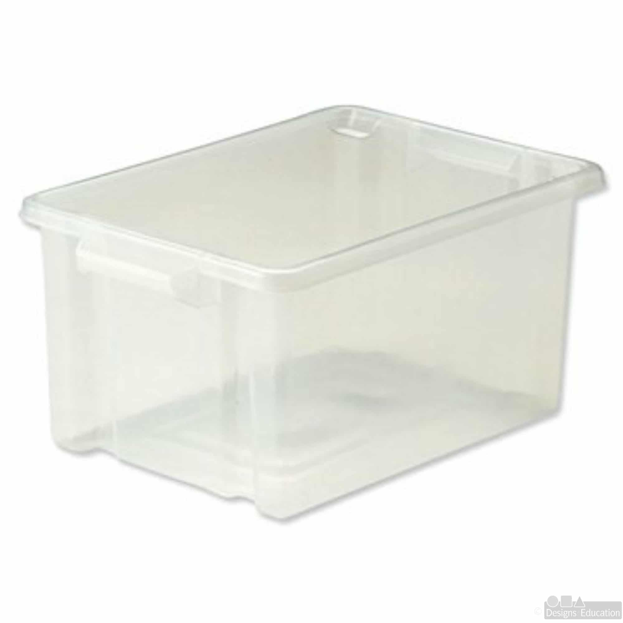 lid tub containers storage clear pp product all round oz p american