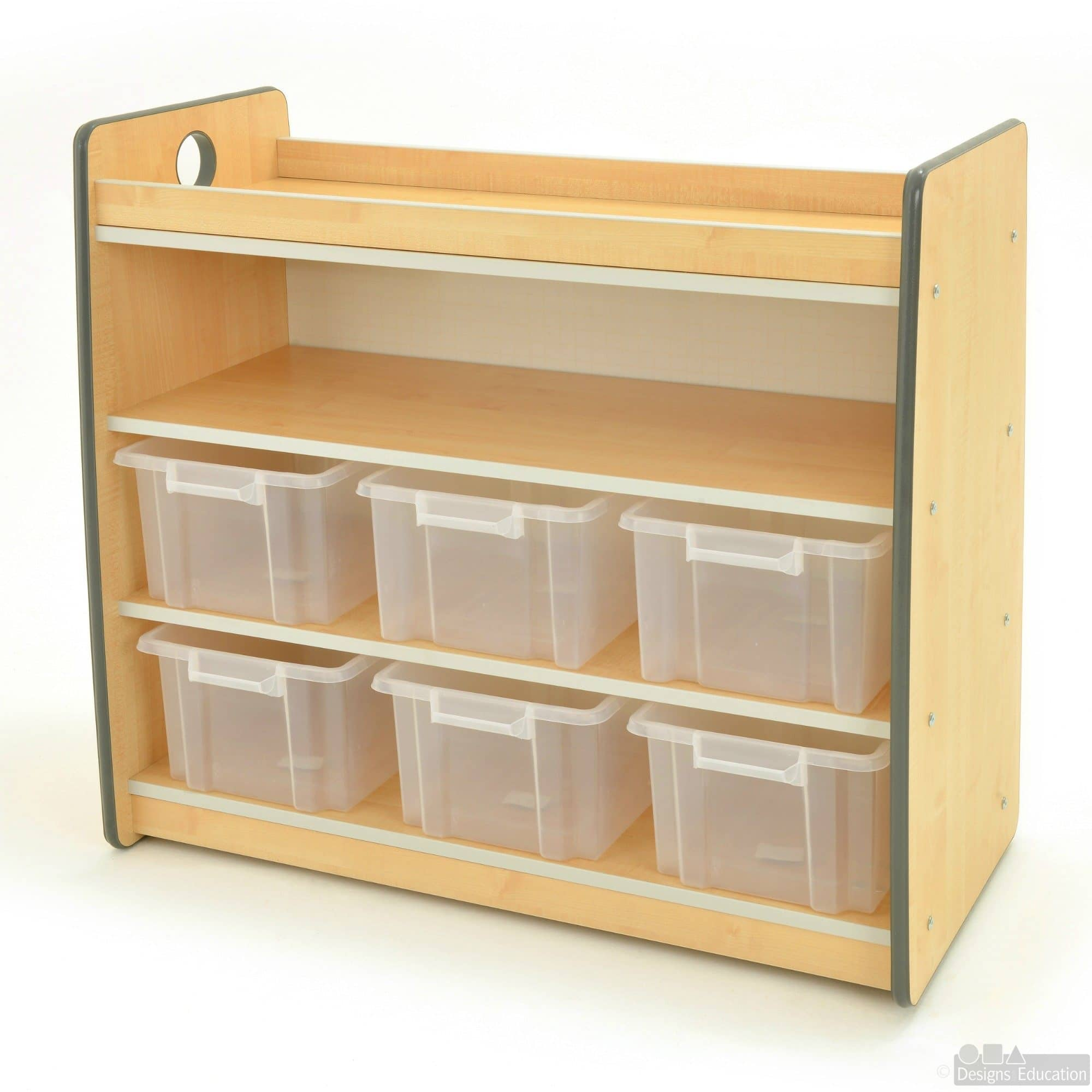 Storage Express Home: Express Size 3 Shelving 6 Tubs