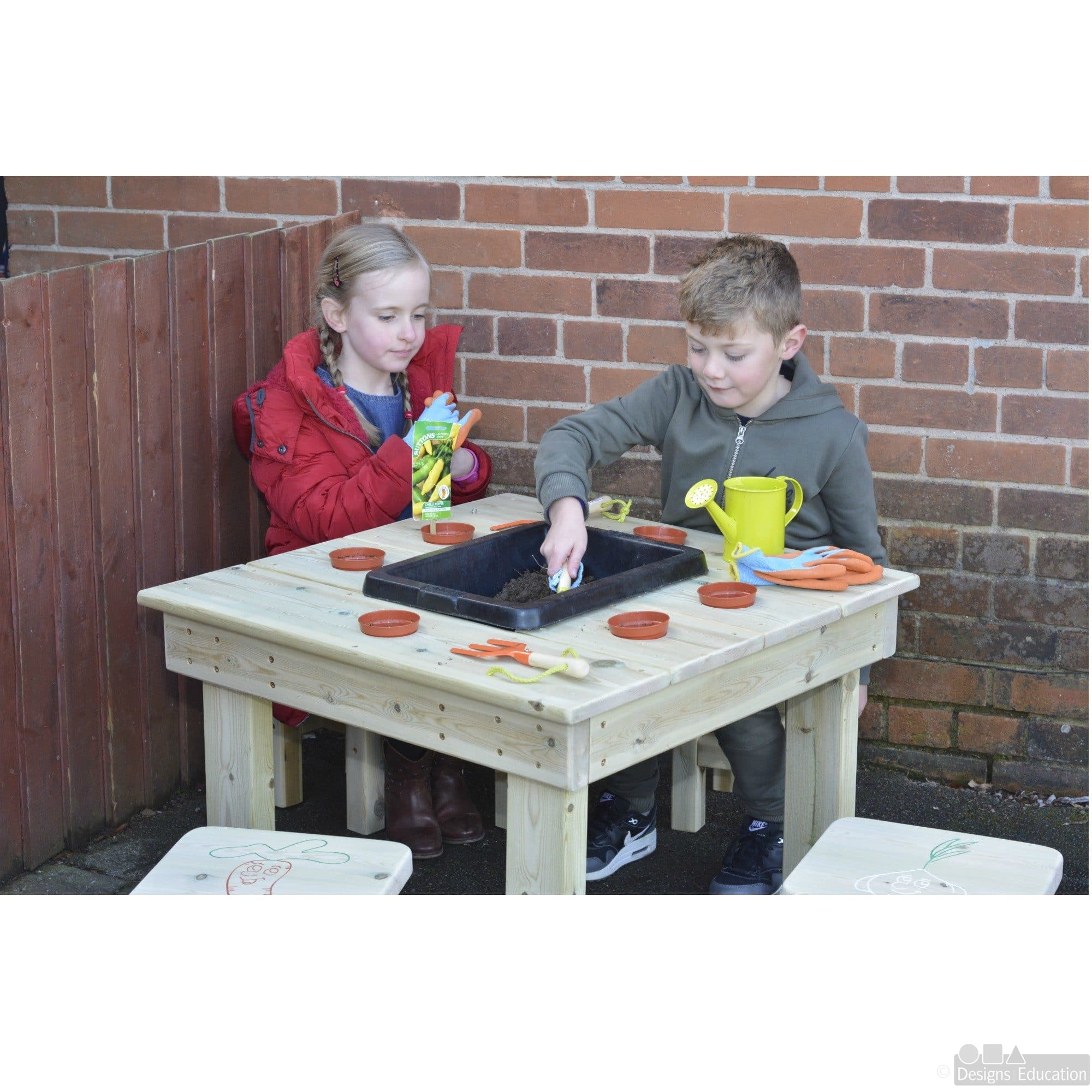 pallets table pallet com potting